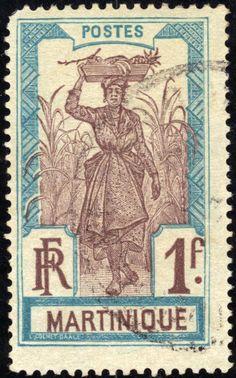 Martinique stamp