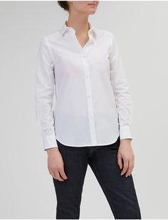 COMMUNITY CLOTHING - Slim-fit cotton-poplin shirt   Selfridges.com