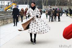 Giovanna Battaglia, Paris Fashion Week 2013