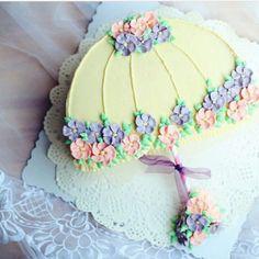 Trendy Ideas For Cupcakes Fondant Decoration Design Baby Shower Fondant Cupcakes, Wedding Cakes With Cupcakes, Cupcake Cakes, Pretty Cakes, Cute Cakes, Beautiful Cakes, Birthday Cakes For Women, Birthday Cake Girls, Spring Cake