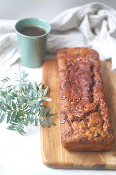 Inspiration: Pick up Limes | One-bowl Moist Chocolate Banana Bread