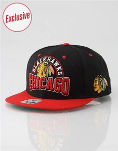 81353005c8f 47 Brand R1 Exclusive Chicago Blackhawks Boost Snapback Cap