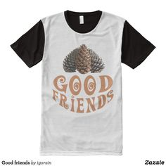 Good friends All-Over-Print T-Shirt - Visually Stunning Graphic T-Shirts By Talented Fashion Designers - #shirts #tshirts #print #mensfashion #apparel #shopping #bargain #sale #outfit #stylish #cool #graphicdesign #trendy #fashion #design #fashiondesign #designer #fashiondesigner #style