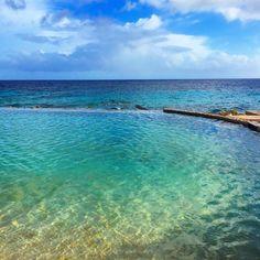 Curaçao infinity pool - Papagoya Beach Hotel