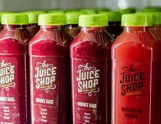 This Fresh Juice Branding Identity is Healthy and Simple #juice #branding trendhunter.com