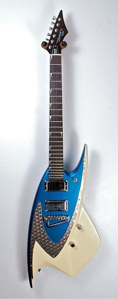 J. Backlund Designs JBD-400. Una guitarra realmente metálica!