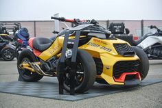 #TURBOCHARGED Can-Am's bold, 150-HP F3 Turbo Concept #Spyder. #Sleek vehicle - 0-60mph in 4.3s @OfficialSpyder