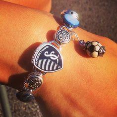 My new #sportingkc bracelet! (via syliu on Instagram)