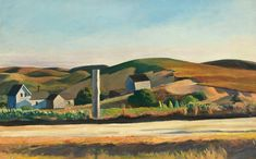 Road and Houses, South Truro (Edward Hopper, 1930-33, Whitney Museum, New York)