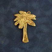 Bronze Palm Tree Pendant Small  #thecraftstar