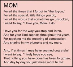 mom i love mom happy birthday mom from daughter mother quotes from daughter