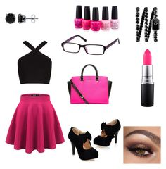 """Sexy secretary"" by jill-hubbard on Polyvore featuring BCBGMAXAZRIA, Chanel, MAC Cosmetics, OPI, BERRICLE and MICHAEL Michael Kors"