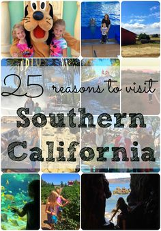 Here are the top 25 places to go in Southern California that are fun for kids and families! Some locations I bet you've never heard of but must see! 25 places to go in Southern California and all the hidden gems you MUST see! California Destinations, Places In California, California Vacation, Visit California, Southern California, Travel Destinations, Amusement Parks In California, Travel With Kids, Family Travel