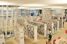 Sendai Mediatheque - Mediateca de Sendai, Toyo Ito, Aoba-ku, Sendai, Miyagi…