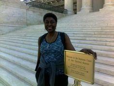 Supreme court Steps ... Deborah Porter
