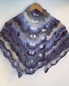 A personal favourite from my Etsy shop https://www.etsy.com/uk/listing/550483976/shine-crochet-shawl
