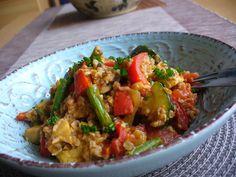 Healthy Food, Healthy Recipes, Tahini, Curry, Ethnic Recipes, Bulgur, Healthy Foods, Curries, Healthy Eating Recipes