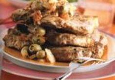 Spaanse karbonade Pork, Meat, Chicken, Salad, Tomatoes, Kale Stir Fry, Pork Chops, Cubs