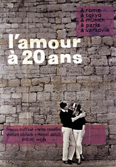 O Amor aos 20 Anos (1962), by https://palavrasdecinema.wordpress.com/