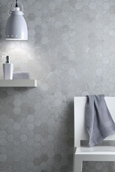 Metalbax by Fioranese Argento Mosaico Hexagon