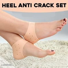 Accupressure Standard Choice Health Care Heel Anti-Crack Sets Material: Silicon Product Type: Socks Description: It Has 1 Pair Of Health Care Heel Anti-Crack Sets Country of Origin: India Sizes Available: Free Size   Catalog Rating: ★4 (2206)  Catalog Name: Premium Choice Health Care Products Vol 15 CatalogID_320442 C125-SC1571 Code: 741-2395336-