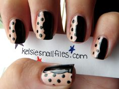 "Kelsie's Nail Files: Inspired by Stella McCartney Fall 2011 ""Lucia"" Design. (Click through to see the dress.)"