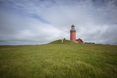 Bovbjerg Fyr, West Küste Dänemark Lighthouses, Country Roads, Mountains, Nature, Travel, Long Exposure, Naturaleza, Viajes, Destinations
