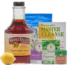 Buy the master cleanse - One of the world's most popular cleanses! Everything you need for the Master Cleanse except fresh organic lemons or limes and purified, filtered water.