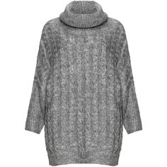 Zizzi Cable knit turtleneck sweater (140 CAD) ❤ liked on Polyvore featuring tops, sweaters, chunky cable knit sweater, cable sweater, cable-knit sweater, oversized sweater and oversized turtleneck