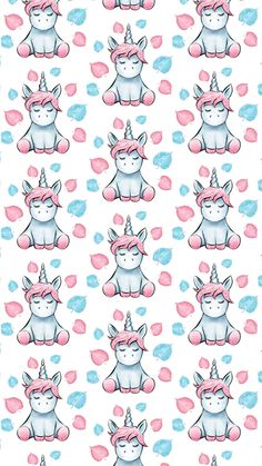 Beautiful, unique professional and personal patterns, background patterns for design Cute Wallpaper For Phone, Disney Wallpaper, Cool Wallpaper, Pattern Wallpaper, Wallpaper Backgrounds, Iphone Wallpaper, Unicorn Wall, Cute Unicorn, Unicorn Pictures