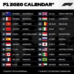 calendar 2020 💪🏽 Belgium GP 2008 by Box Box Box 🇬🇧 Teamlh Porsche, Audi, Season Calendar, 2019 Calendar, Print Calendar, Alfa Romeo, Red Bull, Formula 1, Motor Tuning