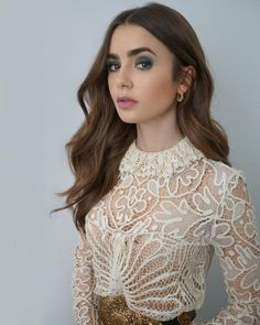 Lily Collins Style, Star Girl, Celebs, Celebrities, Ball Dresses, Girl Crushes, Amazing Women, Hair Makeup, Beauty Makeup
