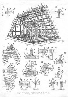 30 Free Cabin Plans for Do it yourselfers wanting to build a modest home Tiny House Cabin, Cabin Homes, Cabins In The Woods, House In The Woods, Cabin Design, House Design, A Frame Cabin Plans, Small Cabin Plans, Viking House