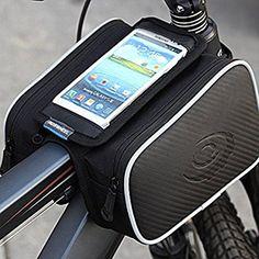 Diamond Candy ROSWHEEL Borse da Manubrio della Bici Anteriore Telaio Superiore / Borsa Bicicletta MTB,BMX Frame per Iphone 5S/4/6, Samsung Galaxy S5/S4/S3 e l'altro Smartphone IPhones Samsung LG Nexus Lumia Sony HTC fino a 5.0 pollici
