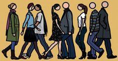 people to draw Blur, James Rosenquist, Art Postal, Collage, Jasper Johns, Portraits, Drawing People, Andy Warhol, Installation Art