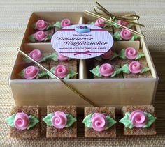 *Ein Traum in rosa*    *16 braune, romantische Würfel Zucker für Ihre Hochzeit*     *Dekorieren Sie Ihre Festtagstafel zur Hochzeit und begeistern ...