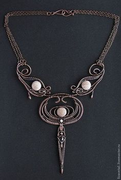 Necklace, handmade beads. Fair Masters - handmade necklace Egyptian. Handmade.