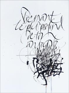"""A une madone : """"...Prenant le plus profond de ton amour pour cible..."""" by Sophie Verbeek"""