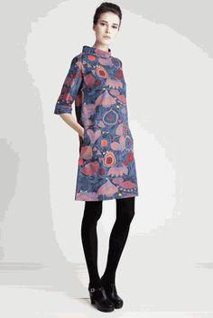 Marimekko - Kahvi dress - looks like my kind of dress!