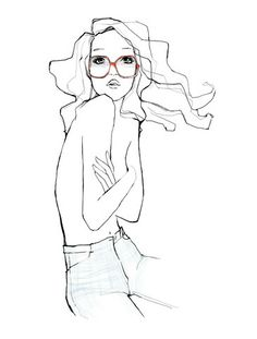 always love, love, love Garance Dore's illustrations