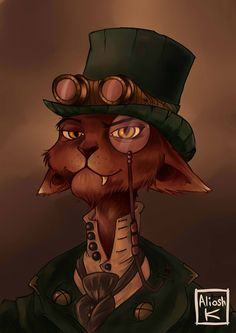 steampunk cat                                                       …