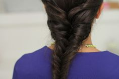 The French Fishtail Braid