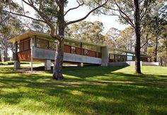 Contemporary House Fergus Scott Architects - outside
