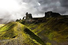 Castell Dinas Bran (Crow Castle), North Wales