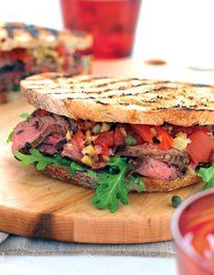 Steak with Shallot, Butter & Balsamic Sauce