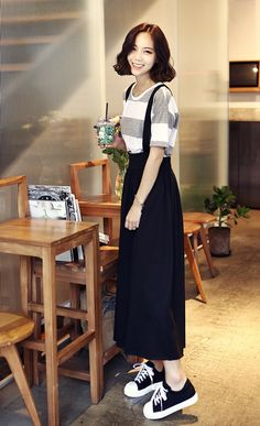 What& the favorite fashion for men? Of course, personal . - What& the favorite fashion for men? Of course, preferences vary widely depending on individua - Korea Fashion, Japan Fashion, Look Fashion, Girl Fashion, Womens Fashion, Fashion Design, Modest Outfits, Skirt Outfits, Cool Outfits