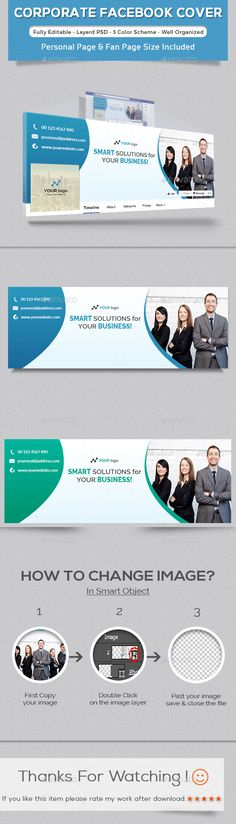 #Corporate Facebook Timeline Cover - Facebook Timeline Covers #Social #Media