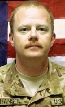Army SGT. John E. Hansen, 41, of Austin, Texas. Died July 26, 2012, serving during Operation Enduring Freedom. Assigned to 2nd Battalion, 17th Field Artillery Regiment, 2nd Stryker Brigade Combat Team, 2nd Infantry Division, Joint Base Lewis-McChord, Washington. Died in Khakrez, Kandahar Province, Afghanistan, of wounds suffered when he encountered an enemy improvised explosive device.