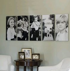 Nice wall of pictures