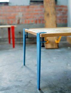 Bem Legaus!: Pés de mesa! Dá pra fazer até com madeira se bobear.